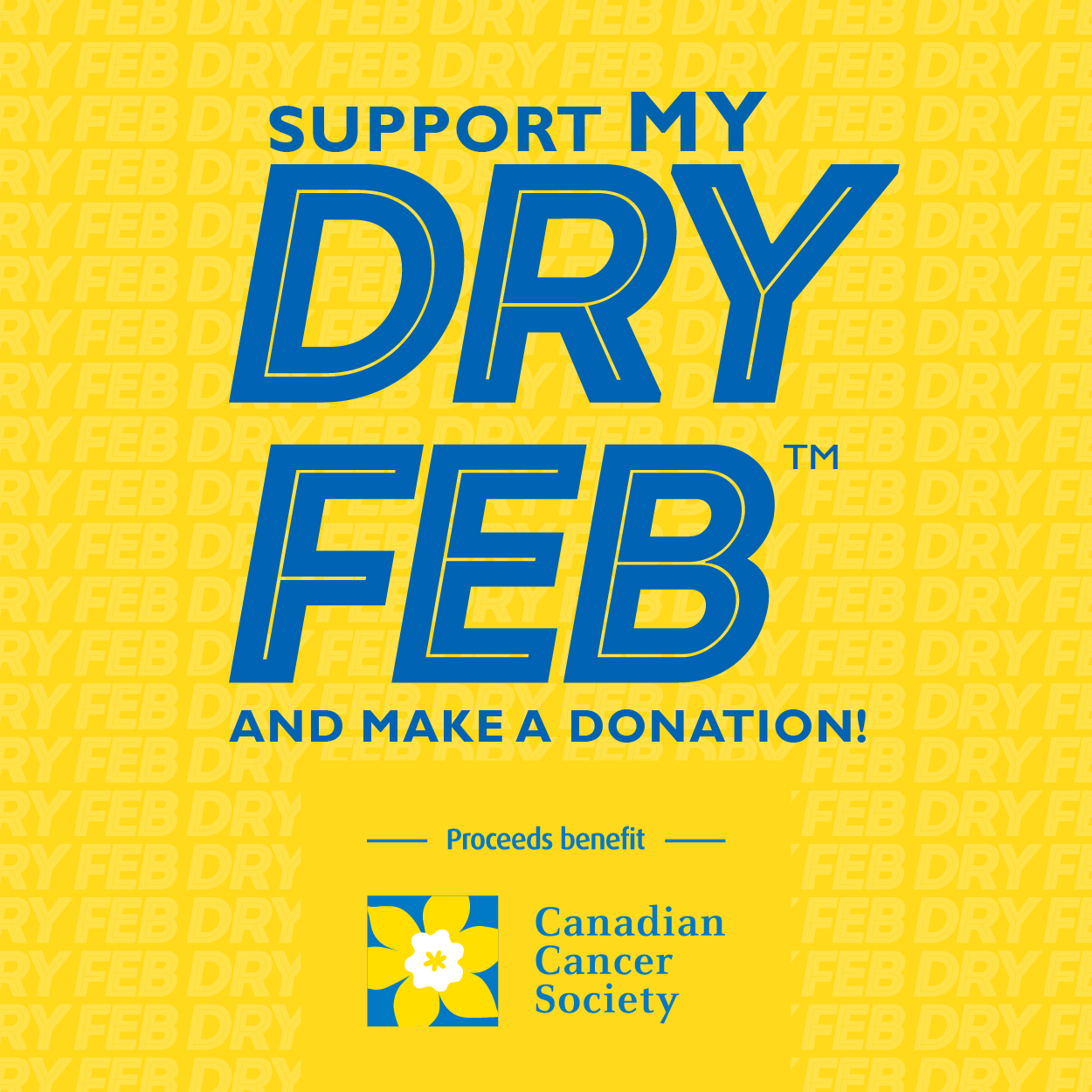Support MY Dry Feb