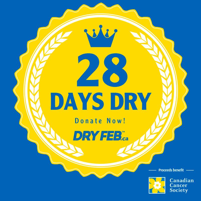 28 Days Dry