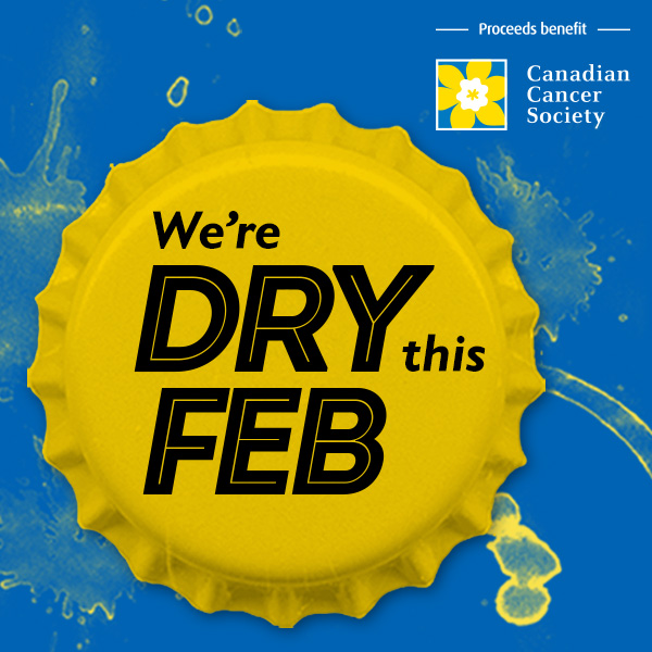 We're Dry this Feb