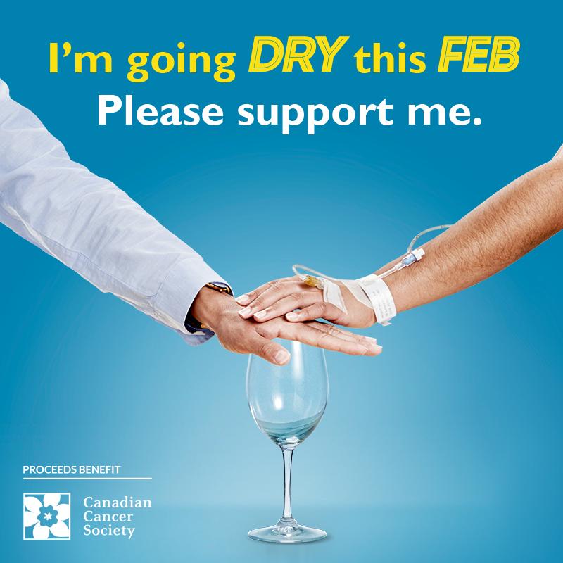 I'm Dry this Feb