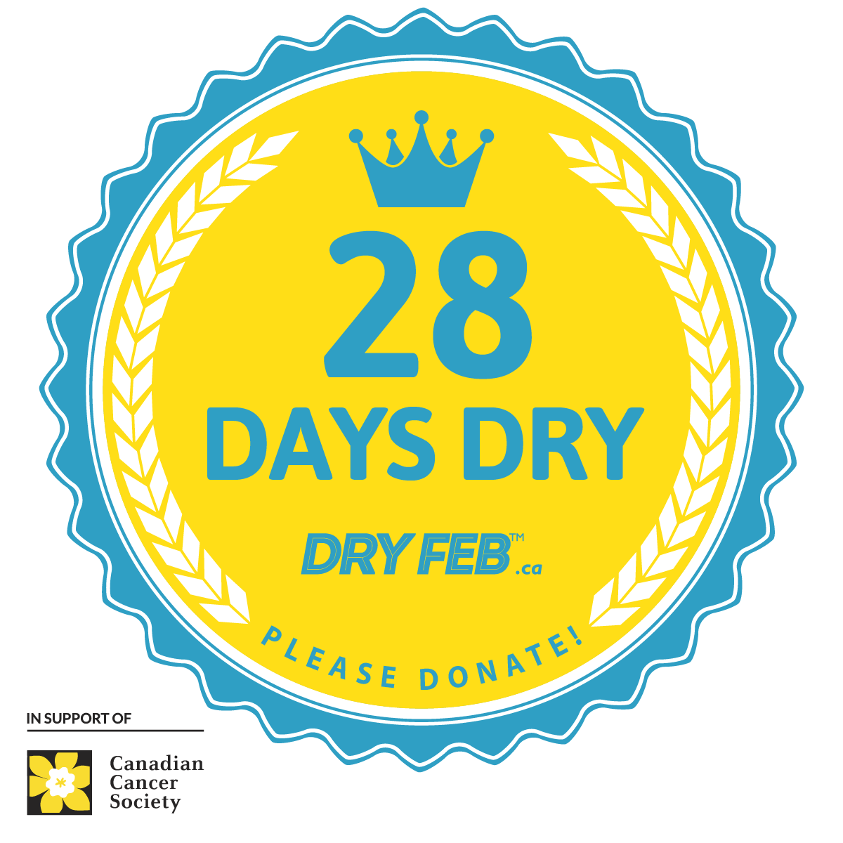 Df21 Milestone Badges 1200x1200 28 Days Dry