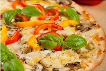 Small ultimate veggie pizza
